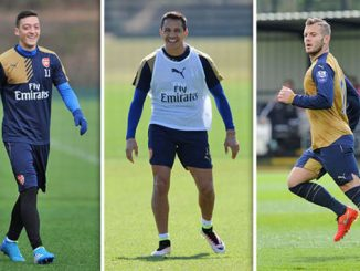 Wilshere, Ozil and Sanchez