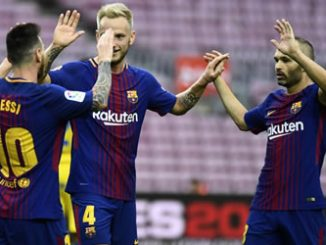 Barcelona defeat Las Palmas in empty Camp Nou amid Catalonia clashes
