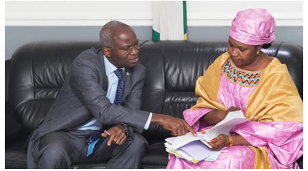 Sukuk: Fashola Receives N100 Billion Cheque Commends Investors