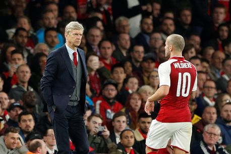 wenger and wilshere