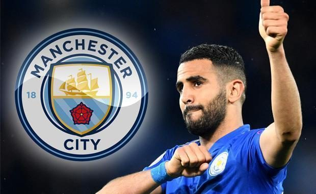 Image result for Riyad Mahrez: Manchester City sign winger from Leicester for £60m