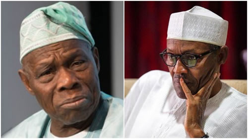 Obasanjo raises alarm in another open letter to Buhari