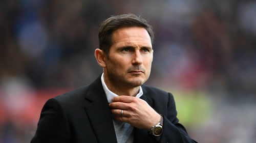 new manager Frank Lampard